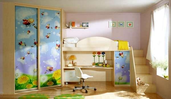 дизайн маленькой детской комнаты (13)