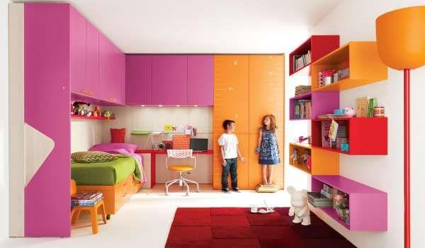 дизайн маленькой детской комнаты (14)