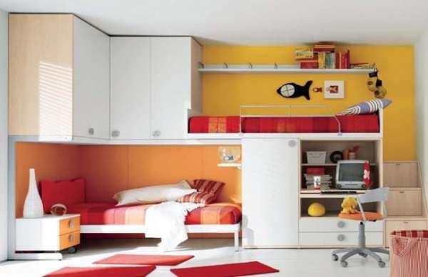дизайн маленькой детской комнаты фото(3)