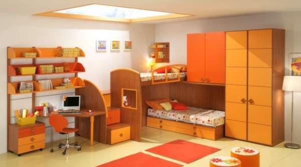 дизайн маленькой детской комнаты фото(15)