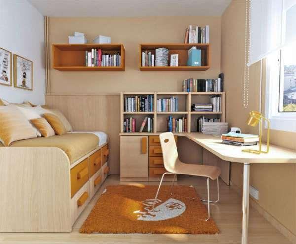 дизайн интерьера маленькой детской комнаты (2)