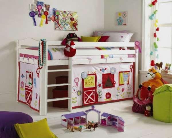 дизайн интерьера маленькой детской комнаты (4)