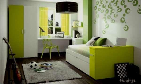 дизайн интерьера маленькой детской комнаты (6)
