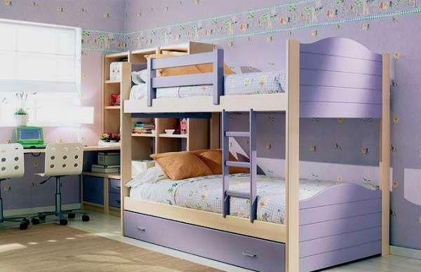 дизайн интерьера маленькой детской комнаты (7)