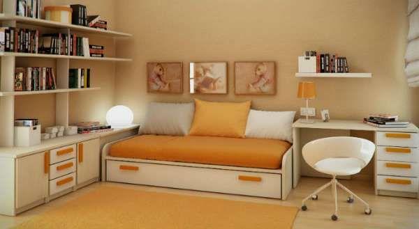 дизайн интерьера маленькой детской комнаты (8)