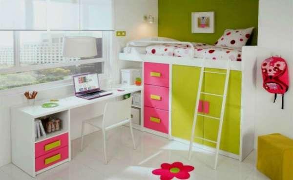 дизайн интерьера маленькой детской комнаты (9)