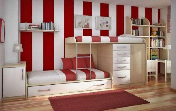 дизайн интерьера маленькой детской комнаты (10)