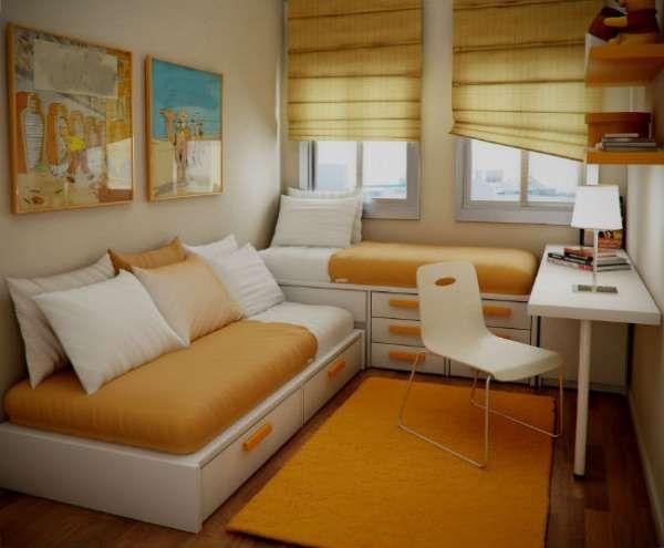 дизайн интерьера маленькой детской комнаты (15)