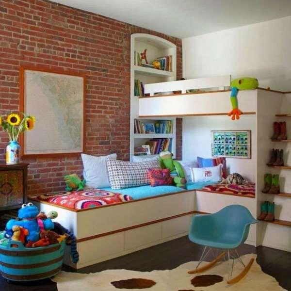 дизайн интерьера маленькой детской комнаты (16)