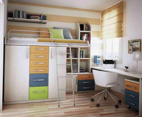 дизайн интерьера маленькой детской комнаты (17)