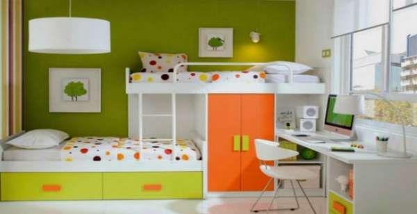дизайн интерьера маленькой детской комнаты (18)