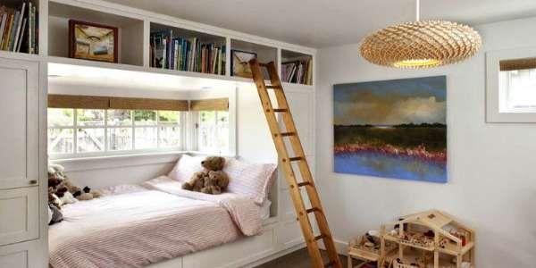 дизайн интерьера маленькой детской комнаты (20)