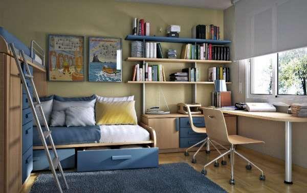 дизайн интерьера маленькой детской комнаты (21)