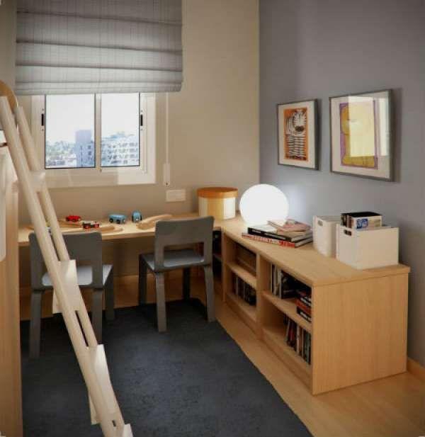 дизайн интерьера маленькой детской комнаты (23)