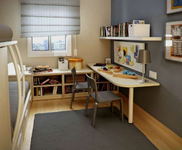 дизайн интерьера маленькой детской комнаты (24)