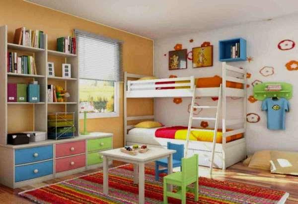 дизайн интерьера маленькой детской комнаты (26)