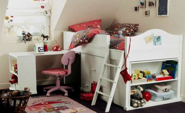 дизайн интерьера маленькой детской комнаты (27)