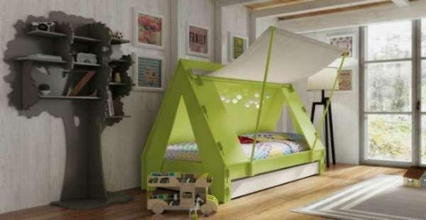 дизайн интерьера маленькой детской комнаты (28)