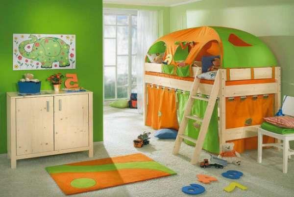дизайн интерьера маленькой детской комнаты (30)