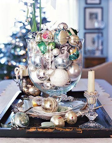 Оформляем новогодний стол 2015