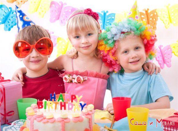 детский праздник день рождения торт