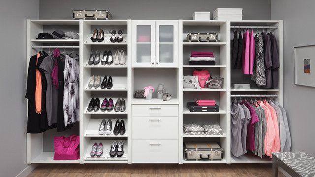 Организация пространства в шкафу: как хранить вещи