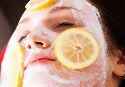лимон и сметана от веснушек