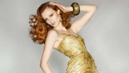 Платья золотого цвета - для королев!
