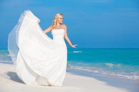Свадебное платье длинное с пышной юбкой