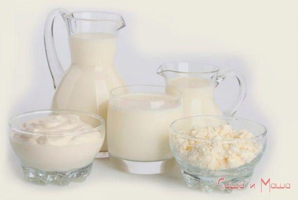 продукты для здоровья молоко