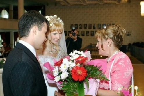 Поздравления молодым от мамы невесты