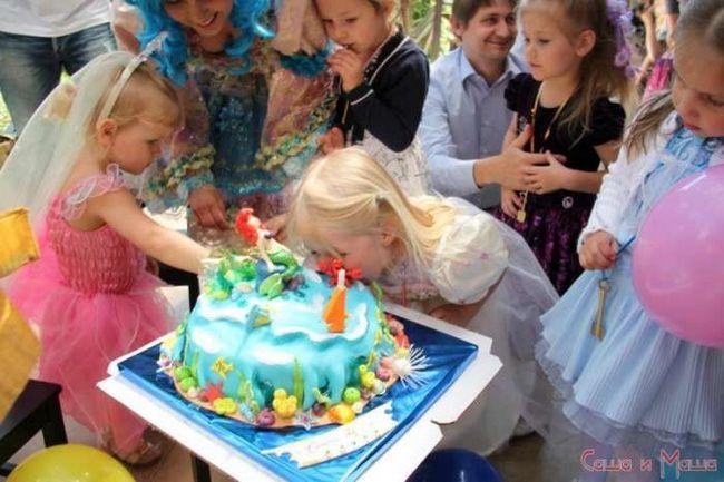 праздничный торт на день рождения девочке