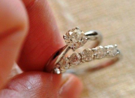 обручальное и венчальное кольцо