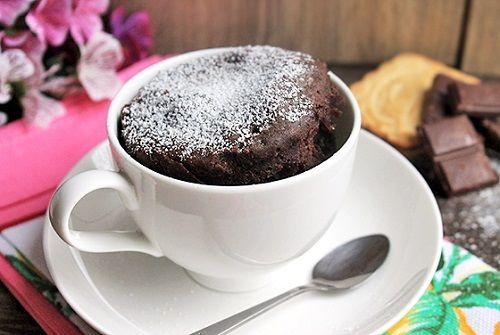Рецепт кекса в кружке