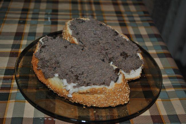 бутерброды с гусиным паштетом
