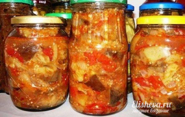 Рецепт соте из кабачков с перцем на зиму