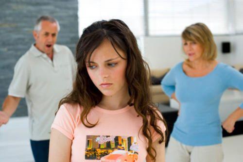 родители против парня