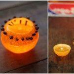 Свеча из апелисина