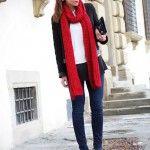 вязный шарф