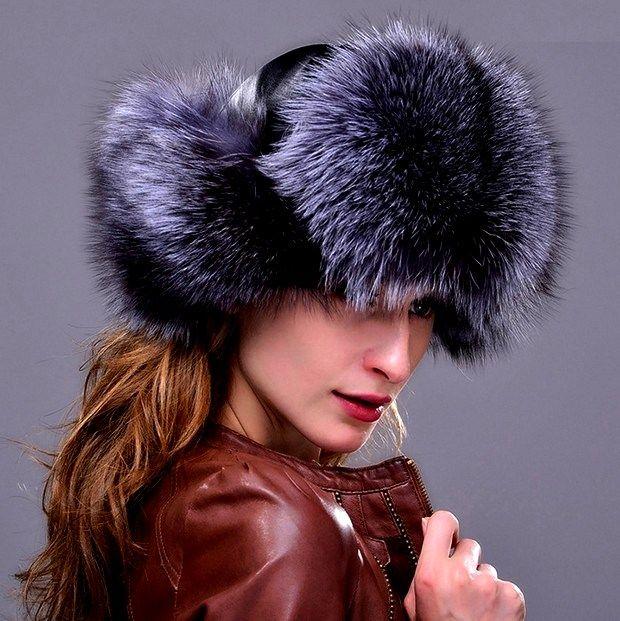 С чем носить женские шапки-ушанки?