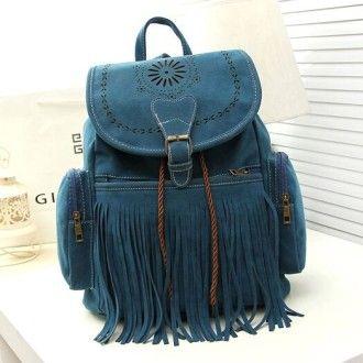 модный замшевый рюкзачок