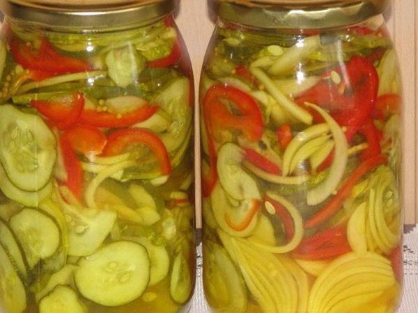Салаты из огурцов на зиму – простые и вкусные рецепты