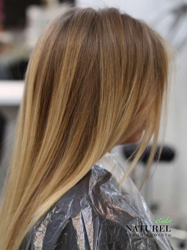 Модное окрашивание волос 2015 - 2016
