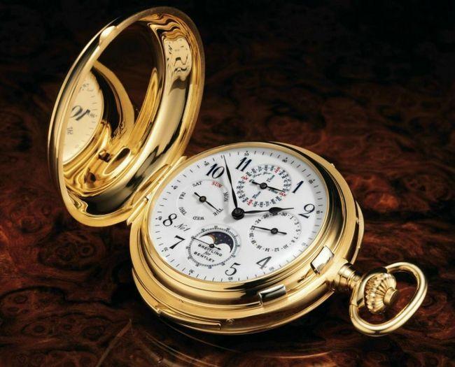 Шикарнейший карманный хронометр