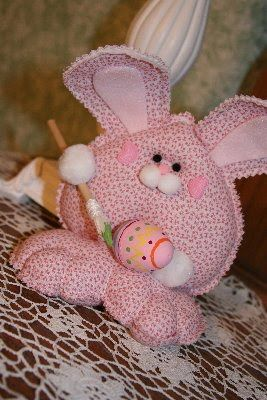 Шьем кролика на пасху своими руками
