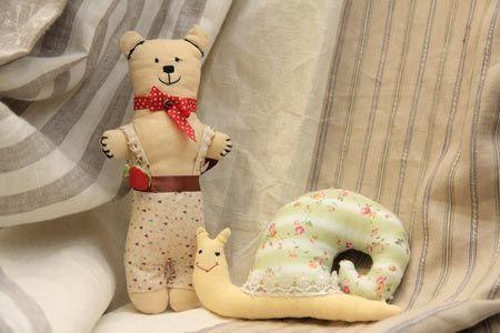Шьем своими руками игрушку-мишку
