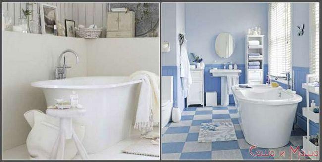 Ванная комната в стиле прованс фото