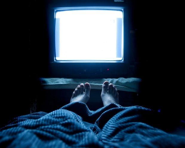 сон перед телевизором