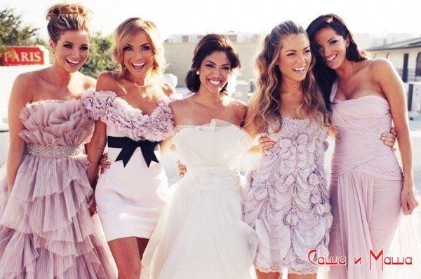 что одеть на свадьбу девушке