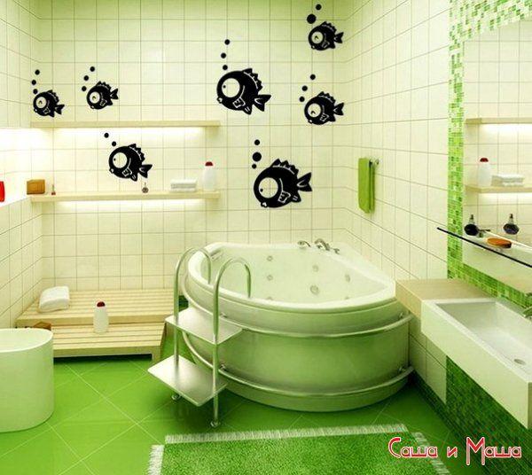 Советы по оформлению ванной